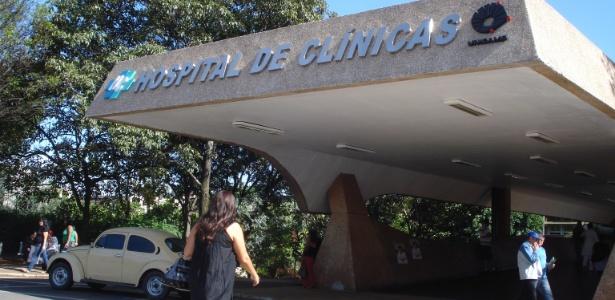 Fachada do Hospital de Clínicas da Unicamp (Universidade de Campinas)