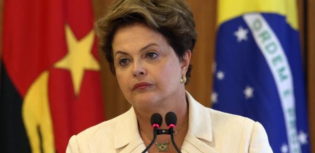 A presidente Dilma Rousseff ouviu vaias na abertura da Copa em São Paulo