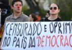 Índios fazem manifestação e tentam invadir a Câmara dos Deputados - Pedro França/Agência Senado
