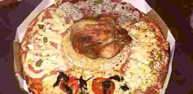 pizza de frango inteiro - Divulgação - Divulgação