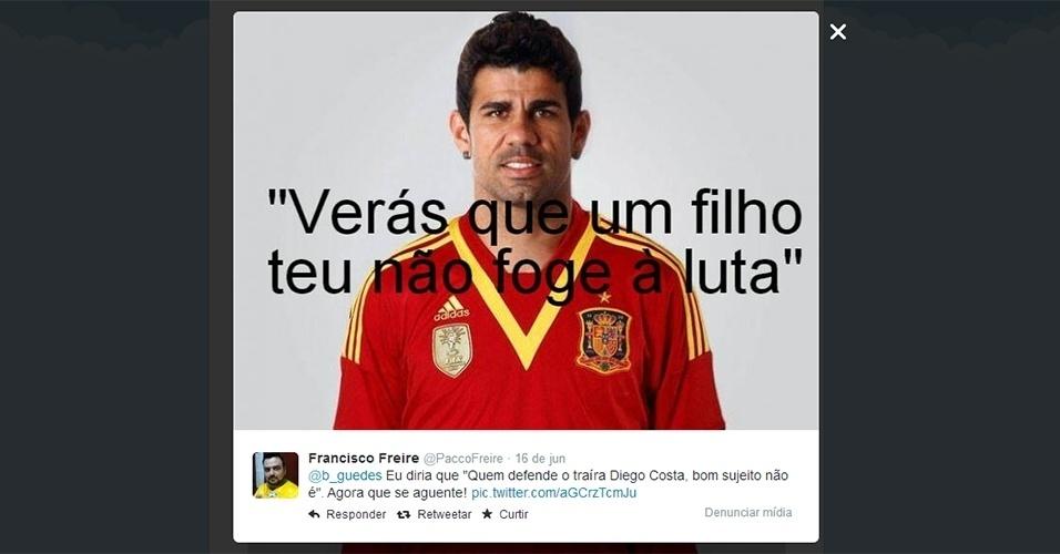 18.jun.2014 - Após a eliminação da Espanha na Copa do Mundo 7214b648ba492