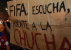 Apenas 18 protestos registraram atos violentos durante a Copa (Foto: Domingos Peixoto/ Agência O Globo)