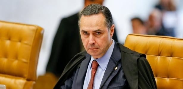 """Para Barroso, é """"impossível não sentir vergonha"""" da corrupção no Brasil."""
