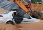 Natal volta a sofrer com temporal; três carros foram soterrados - Léo Carioca/Futura Press/Estadão Conteúdo