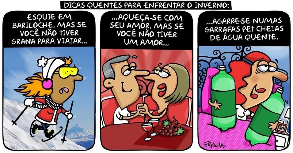 24.jun.2014 - Pryscila dá dicas de como encarar o inverno que chega no Brasil