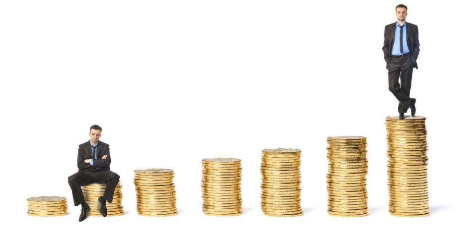 riqueza, homem rico, moeda, poupança, economia, finanças, ícone