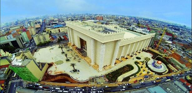Templo de Salomão, da Igreja Universal do Reino de Deus, na zona leste de SP