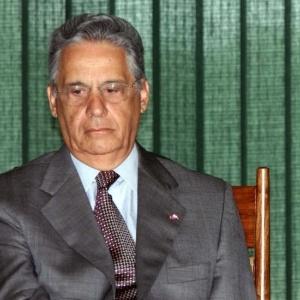 FHC na época em que ocupava a Presidência