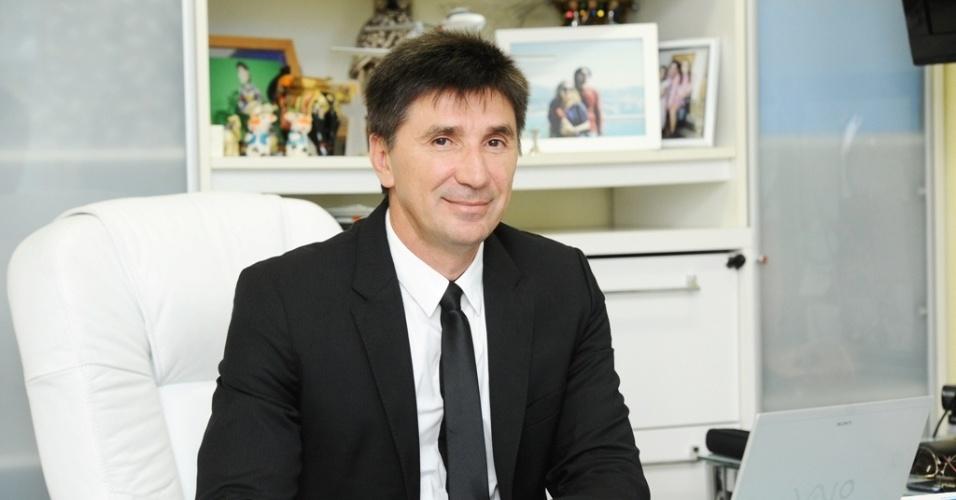 O empresário José Janguiê Bezerra Diniz, do grupo Ser Educacional