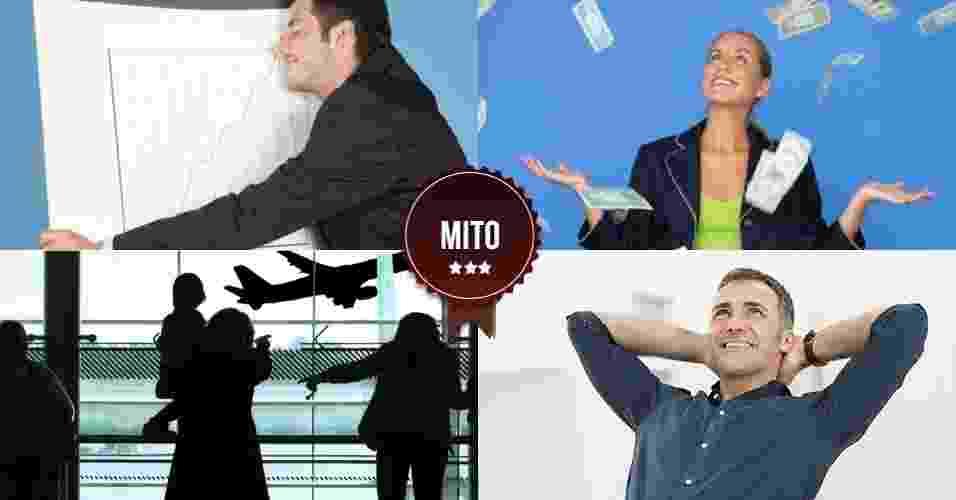 Mito falência - Arte UOL