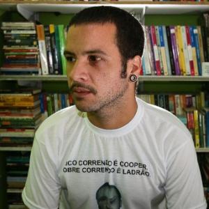 O professor de história André Luiz Ribeiro - Ronny Santos/Folhapress