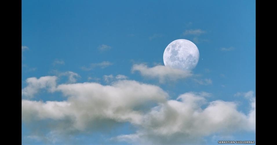 O argentino Sebastián Guillermaz capturou esta imagem durante um alinhamento astronômico de Júpiter. A foto foi tirada em sua casa em Los Polvorines, Buenos Aires