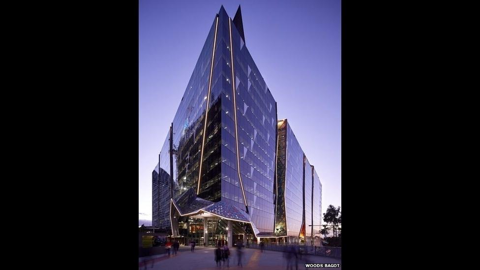 7.jul.2014 - O Banco Nacional da Austrália, em Melbourne, é outro projeto finalista, criado pelo escritório Woods Bagot