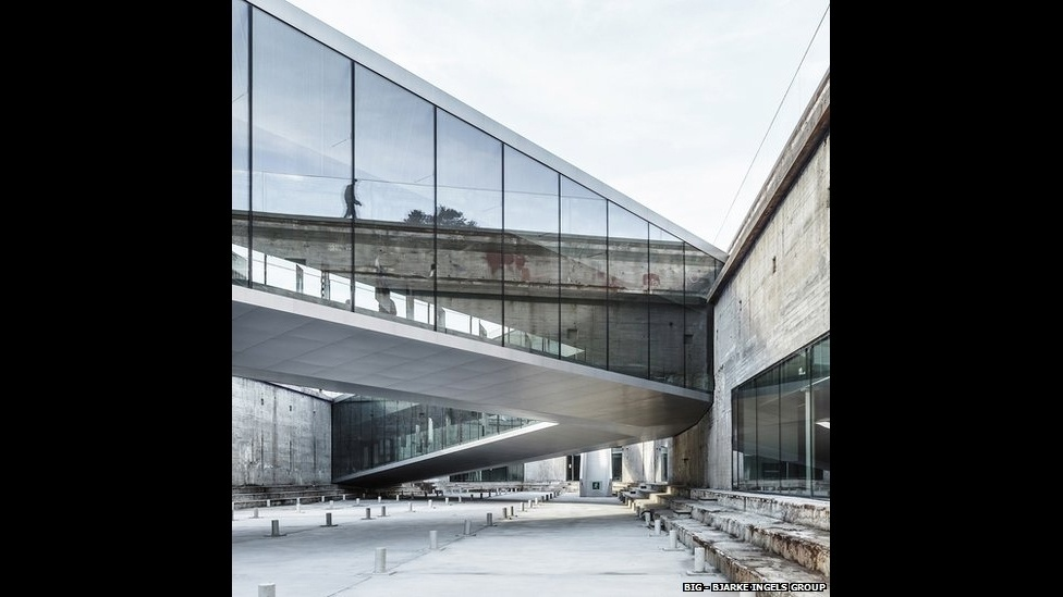 7.jul.2014 - O novo Museu Marítimo da Dinamarca, em Helsingor, foi criado pelo Bjarke Ingles Group e inaugurado em outubro de 2013. O projeto foi inscrito na categoria cultura.