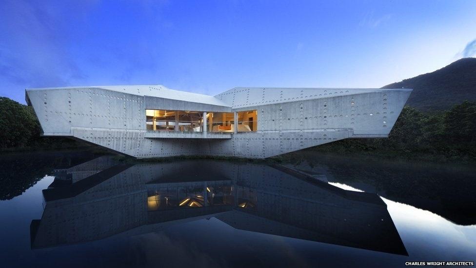 7.jul.2014 - Os vencedores serão avaliados durante um festival de três dias em Cingapura, em outubro. A Stamp House, uma residência na Austrália, é um dos projetos concorrentes, criado pelo escritório Charles Wright Architects