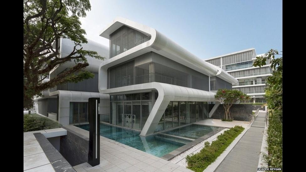 7.jul.2014 - Oxley, do escritório LAUD Achitects Pte Ltd é um projeto de habitação criado em Cingapura