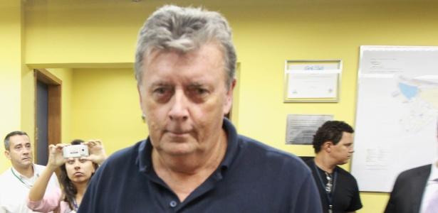 Raymond Whelan está preso na carceragem do Tribunal de Justiça do Rio de Janeiro