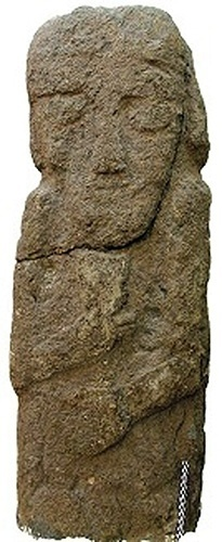 10.jul.2014 - Várias estátuas humanas, em tamanho natural, também foram descobertos no Curdistão. Todas mostram homens barbudos e teriam sido erguidas em sepultamentos. A maioria deles data para tanto o sétimo ou sexto século aC, época em que os citas e cimérios estavam avançando através do Oriente Médio