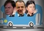 18 governadores buscam reeleição em outubro - Arte/UOL