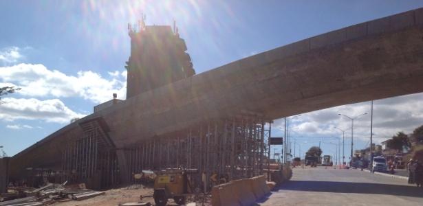 Viaduto de Belo Horizonte que desabou é obra da Copa que teve falha