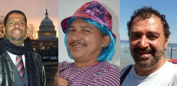 Os eleitores poderão optar pelo Barack Obama fluminense (à esq.), pelo Tiririca do Amapá (centro) e pelo Lula 'da oposição' no DF