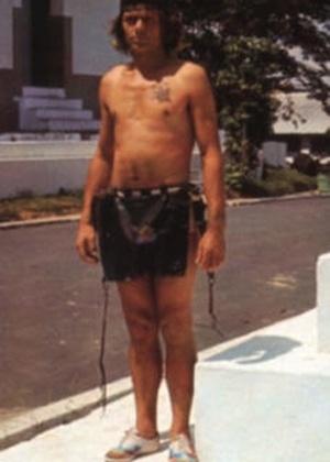 Hansi Richard Günther Hauck, nascido em Grub am Forst, na Bavária, mora em Manaus e acredita ser Tatunca Nara, chefe da tribo Ugha Mongulala. Acima, Tatunca Nara em imagem sem data divulgada pelo escritor Karl Brugger - Reprodução/Carookee.net
