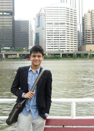 André Melo largou o curso de direito na Federal do Acre para estudar em Yale - Arquivo pessoal