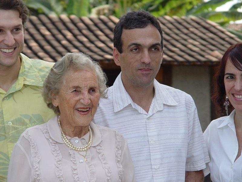 Chames Salles Rolim, 97, vai se formar em direito no dia 7 de agosto de 2014