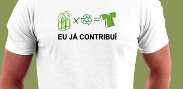 7d6baa3dc Roupa com PET é tida como  ecológica
