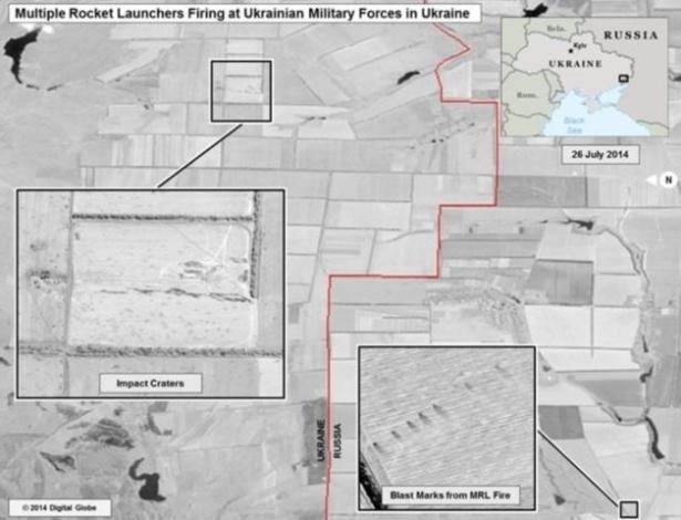 Imagens mostram o que seriam lançadores múltiplos de foguetes e morteiros autopropulsados russos