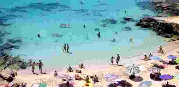 Praia de Caló des Mort, na ilha de Formentera, parte das Ilhas Baleares, na Espanha - fabrefumi/Flickr/Creative Commons
