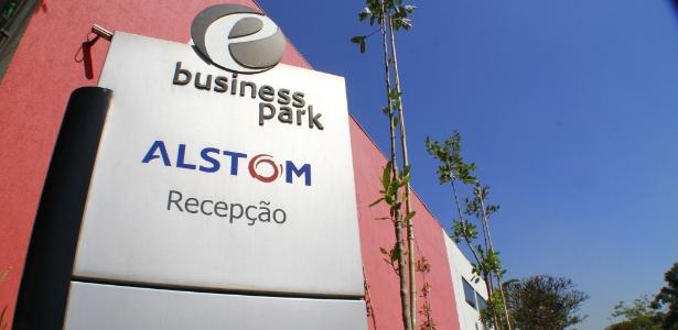 Sede administrativa da Alstom no Brasil