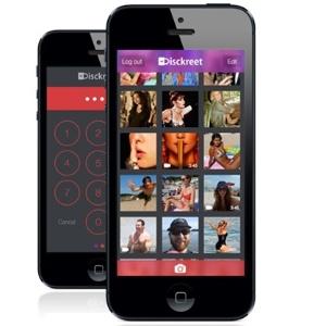 Aplicativo Disckreet está disponível somente para dispositivos iOS, da Apple. Criador planeja versão para Android - Reprodução