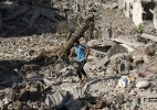 Pesadelo em Gaza se intensifica com disputa de interesses - Suhaib Salem/Reuters