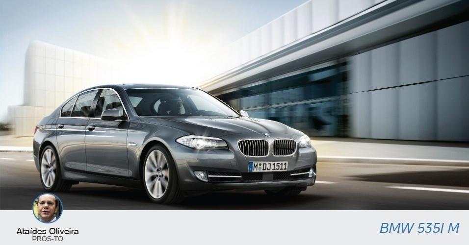 Ataídes Oliveira (PROS-TO), candidato a governador, declarou uma BMW 535 IM, no valor de R$ 281 mil