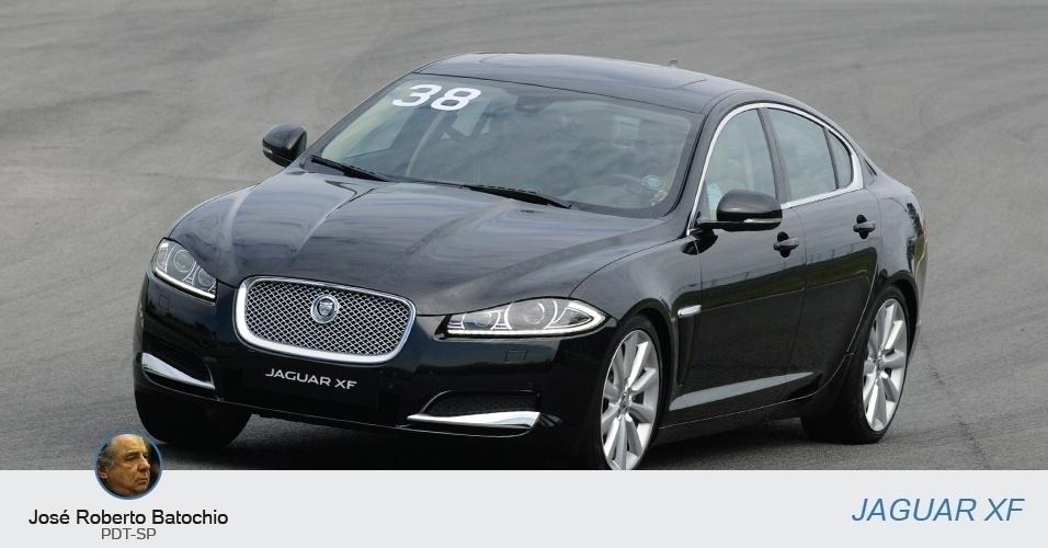José Roberto Batochio (PDT-SP) tem um Jaguar XF, declarado em R$ 227 mil