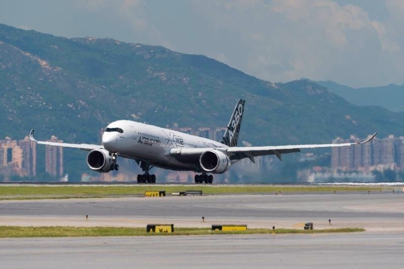 Na fase de testes, o A350 XWB também passou por Hong Kong e Cingapura. A Ásia é considerada um mercado importante para a aviação, por ser a região onde a procura por voos mais cresce no mundo