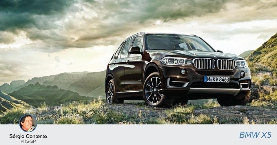 Sérgio Contente (PHS-SP) declarou uma BMW X5, no valor de R$ 439.160 ao TSE