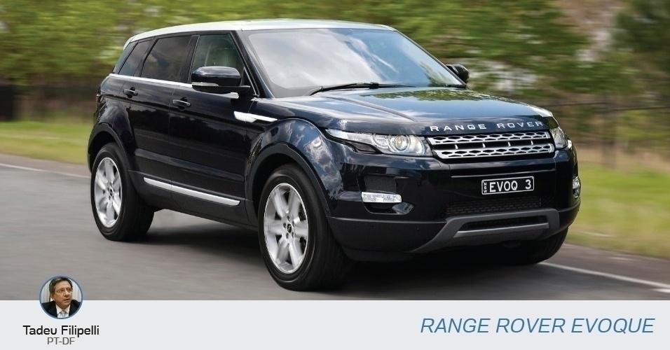 Tadeu Filipelli (PT-DF), candidato a vice-governador, tem uma Range Rover Evoque Dynamic, declarada no valor de R$ 205 mil