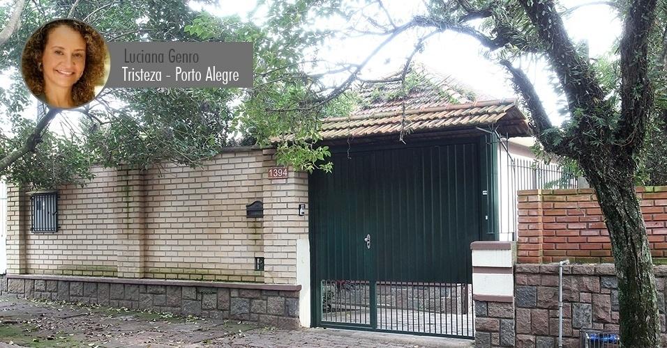 06.ago.2014 - Candidata à presidência pelo PSOL, Luciana Genro declarou possuir uma casa de R$ 150 mil no bairro Tristeza, área nobre da zona sul de Porto Alegre (o valor informado à Receita não está corrigido, por isso é inferior ao valor comercial atual)