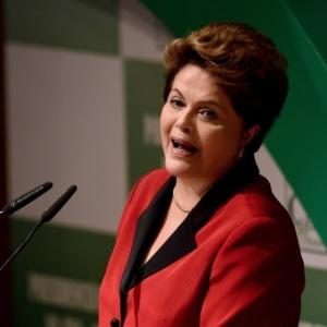 Dilma Rousseff (PT), candidata à reeleição, participou de uma sabatina promovida pela CNA (Confederação da Agricultura e Pecuária do Brasil)