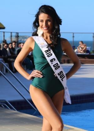 Julia Gama, a Miss Rio Grande do Sul, venceu a edição 2014 do Miss Mundo Brasil - Bárbara Paludeti/UOL