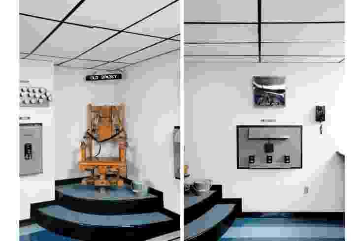 7.ago.2014 - Na penitenciária da Virgínia Ocidental ocorriam penas de morte através de cadeira elétrica - Divulgação/Emily Kinni