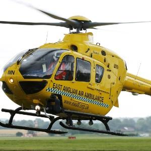 Helicóptero que será pilotado pelo príncipe William