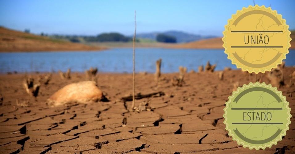 RECURSOS HÍDRICOS: A área inclui o abastecimento e o tratamento de água, assim como a produção de energia. A regulação desse sistema é responsabilidade do governo federal. Já a sua gestão, na maioria dos casos, fica a cargo dos Estados