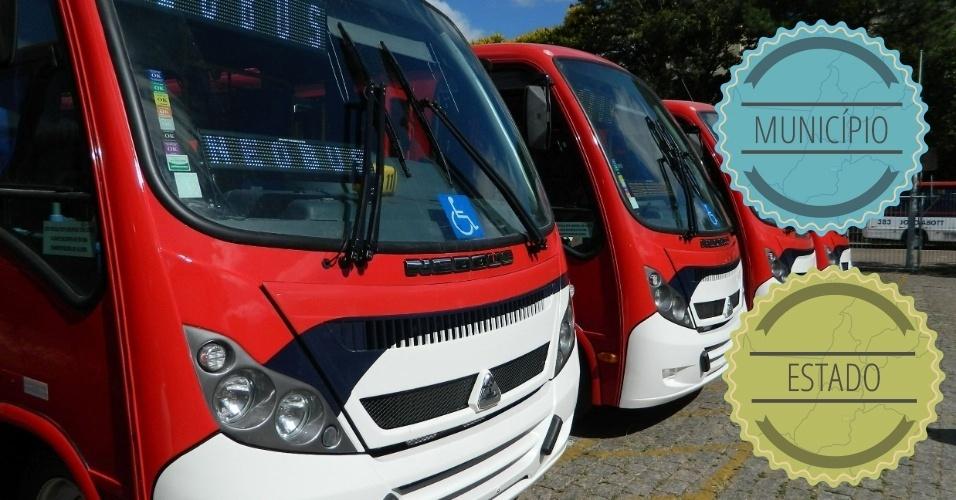 TRANSPORTES: Enquanto o município é responsável pelos transportes urbanos, o Estado assume a gestão dos transportes intermunicipais. Em São Paulo, o Metrô, ainda que intermunicipal, também é de responsabilidade do Estado, já que o projeto prevê sua extensão para cidades da Grande São Paulo