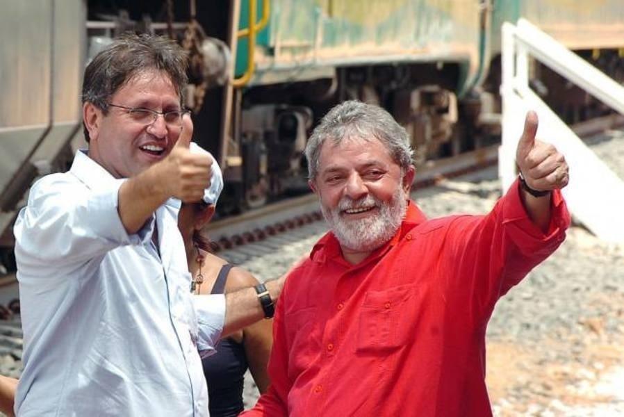 12.ago.2014 - Marcelo Miranda (PMDB) recebe o apoio de Lula e do PT em sua campanha ao governo do Tocantins