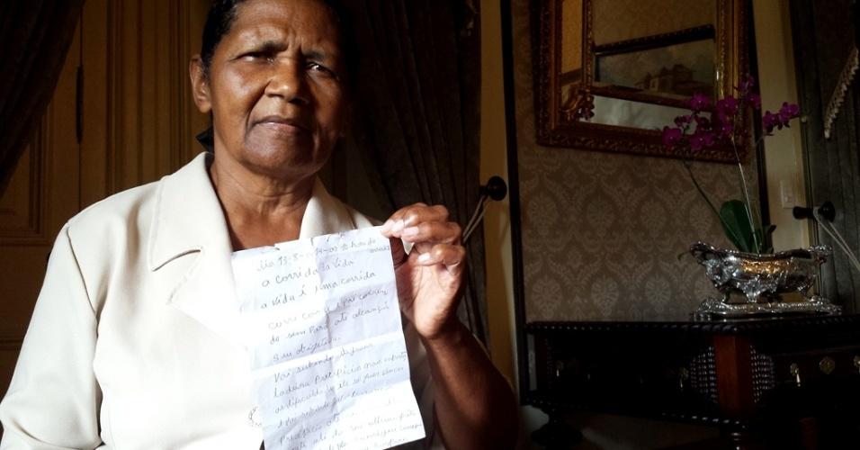 Governanta diz que escreveu poema sobre morte antes de acidente com Campos