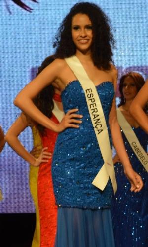 15.ago.2014 - Com a desistência da primeira colocada, que havia sido eleita Miss Paraíba 2014 em 2 de agosto, Larissa Muniz, 18, candidata da cidade de Esperança assume o posto e vai representar o Estado no Miss Brasil Universo 2014