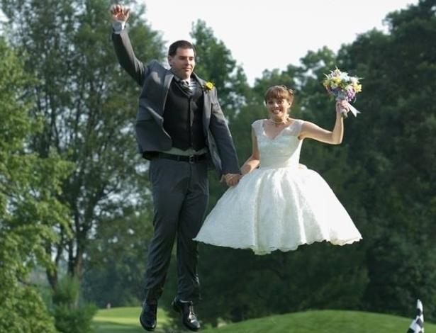 15.ago.2014 - Uma noiva flutuante ou a nova versão da Noiva Cadáver?